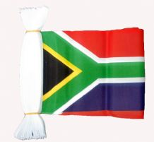 SOUTH AFRICA BUNTING - 9 METRES 30 FLAGS